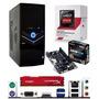 Pc Amd Athlon 5350 X4 + Radeon R3 + 4gb Ram + 320gb -12 Msi
