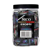 Contenedor De 50 Condones De Colores Sico Excess