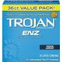 Trojan-enz Condón Lubricado Enz 36 Contador