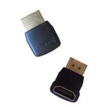 Conector Adaptador Hdmi Hembra A Hdmi Macho 90 Grados Dongle
