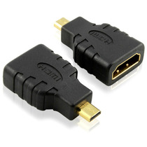Adaptador Micro Hdmi Macho A Hdmi Hembra Cable Tablet Celula