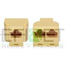 Accredke14 Conector P/rj45 Cat 5e 1 A 2 H- H Bolsa /10pzas