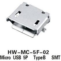 Conector Micro Usb 5 Pines - Para Celulares Y Tablets Ver. 2