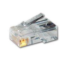 Plug Conector Rj45 Para Cable De Red Ethernet Utp 10piezas