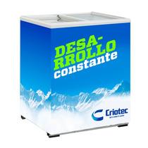 Congelador Horizontal Tapa De Vidrio 5 Pies Recto Criotec