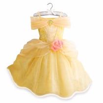 ~disfraz Vestido Bella Original Disneystorec/luces Talla 5/6