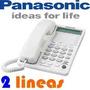 Telefono Panasonic 2 Lineas Kx-ts208 Altavoz Display Memoria