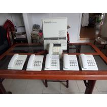 Paquete De Central Telefonica Panasonic Kx-t30810