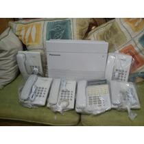 Paquete De Central Telefonica Mod. Kx-ta308