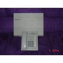 Conmutador Panasonic Kxta308 3 Lineas 8 Extensiones