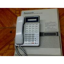 Paquete Conmutador Panasonic 3 Lins 8 Exts Con 7 Telefonos