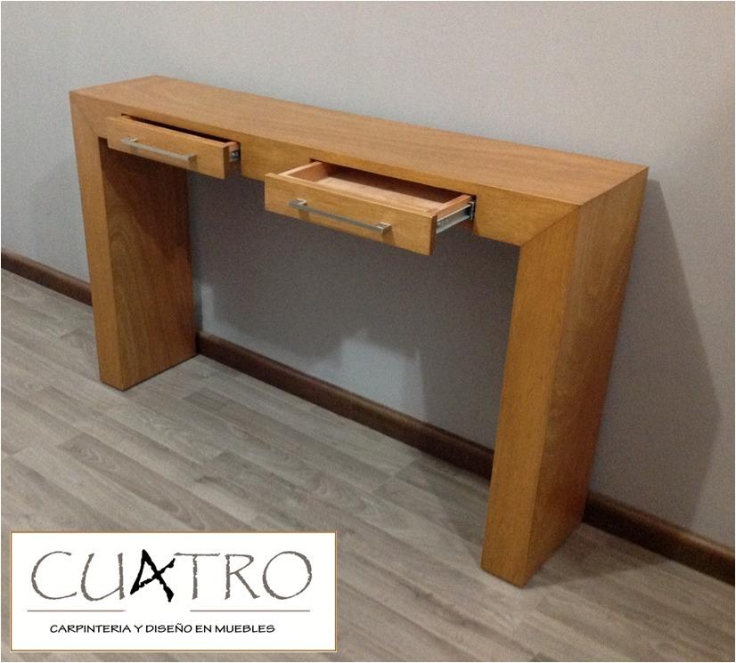Consola mesa grapacredenza bufetera 100 madera car - Precio de maderas ...