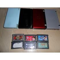 Cuatro Nintendos Ds Lite Lee X Completo Anuncio