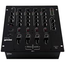 Gemini P S 4 Dj Mixer Mezcladora Profesional De 4 Canales