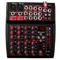 Mezcladora Profesional 10 Canal 16 Efectos Rca Sonoros Xaris