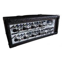 Mezcladora Amplificada Audiobahn 8ch Usb Sd Ipod Rca Plug3.5