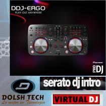 Pioneer Ddj-ergo Dj Mezcladora Virtual Dj Mixer Controller