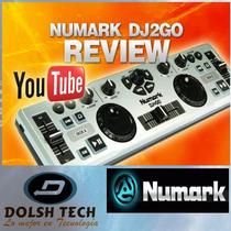 Numark Dj2go Controlador Portatil Profesional Virtual Dj