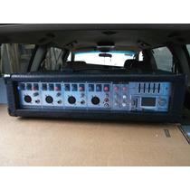 Mezcladora Amplificada Radson Rpm4 Usb 200 Watts