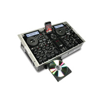 Numark Icdmix3 Mezcladora Con Cd Player Dual Mp3 Todo En Uno