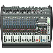 Consola Amplificada De 20 Canales 1600 W Behringer Pmp6000