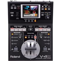 Mezcladora De Video Roland V-4ex 4 Canales Hdmi Touchcontrol