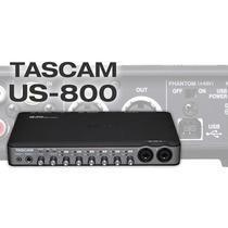 Tascam Us-800 Interfaz De Audio