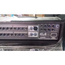 Consola Amp. Backstage Usb 4 Canales 400 Watts Bs4l4usb