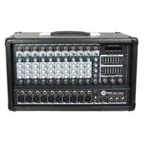 Mezcladora Dj 10 Canales Amplificador Integrado 400w Usb/mp3