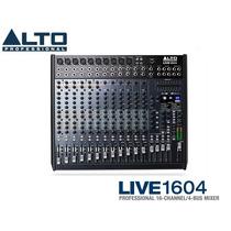 Alto Live 1604 Mezcladora Con Compresor Y 100 Efectos Alesis