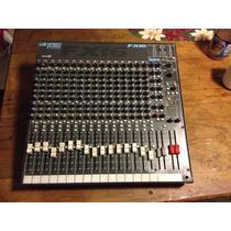 Consola, Mezcladora, Soundcraft, 16 Canales,