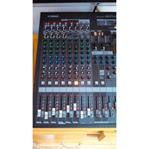 Mgp12x Yamaha 12 Canales Y Doble Procesador De Efectos 2 Fx