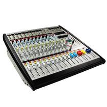 Mezcladora Amplificada Stereo 12ch Usb/sd 1000w Rms