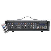 Mezcladora Amplificada 4 Canales 800 W Pmpo Usb Bluetooth