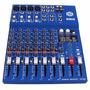 Mezcladora Dj 8 Canales Interface Usb