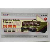 Mezclador Radox 8 Canales Dxr012544