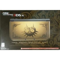 New Nintendo 3ds Xl Zelda Majoras Mask + Cargador + Regalo