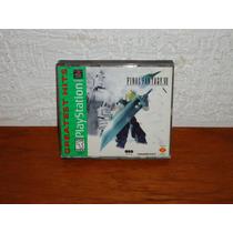 Play Station Psone Juego Final Fantasy Vii