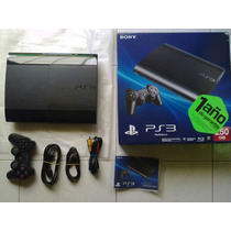 Ps3 Super Slim 250gb Ticket - Cambio Por Pantalla Led