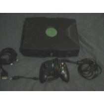 Lote Consola X Box Primera Generacion Con 9 Juegos Reparar