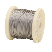 Cable De Acero Inoxidable En Rollo 7x7 1/16 Y 1524 M Obi