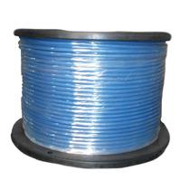 Cable De Acero Con Pvc 7x7 3/16-1/4 Inch Y 150 Metros Azul