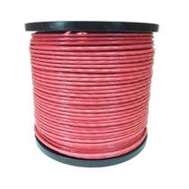 Cable De Acero Con Pvc 7x7 3/16-1/4 Inch Y 150 Metros Rojo