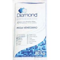 Pegamento Blanco Daimond Para Mosaico Bulto 20kg Rinde 4m2
