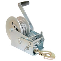 Malacate Winch Manual Galvan 600 Lbs O 270 Kilos Y Cable 10m