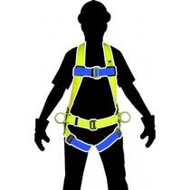 Arnes C/ Anillos D Espalda Y Cinturon Ss-10acd Seguridad1ero
