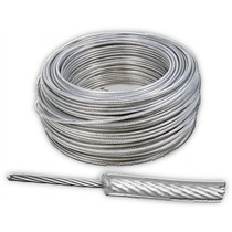 Cable De Acero Con Recubrimiento Pvc 7x7 1/8-3/16 Y 304 M