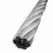 Cable De Acero Inoxidable En Rollo 7x19 1/8 Y 915 Metros Obi