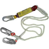Cuerda De Vida Con Amortiguador Doble Ge Nylon Doble Cable