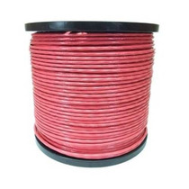 Cable Acero Recubrimiento Pvc 7x7 3/16-1/4. 152 M. Rojo Obi